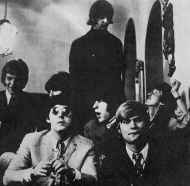 Los Rattles con los Beatles